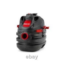 5-Gallon 6-HP Portable Wet/Dry Lightweight and portable Shop Vacuum