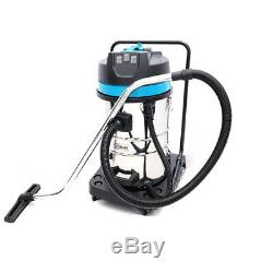 80 Litre Carwash Black Wet And Dry Vacuum Cleaner Industrial 230V 3000W