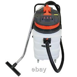 90L Vacuum Cleaner Industrial Wet Dry Commercial Clean Floor Track Nozzle 3000W