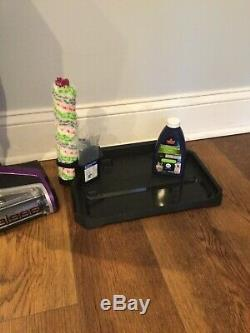 BISSELL CrossWave Purple Pet Pro All-in-One Wet\Dry Vacuum Cleaner Barely Used