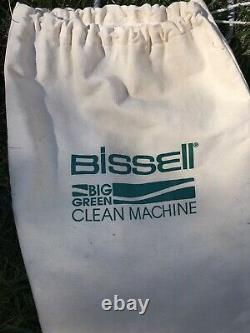 Bissell Big Green Machine Wet/Dry Vacuum Carpet Shampooer With Attachments