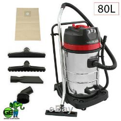 Commercial Wet & Dry Vacuum Gutter Cleaning Machine (12M-40FT) Pole. 10M Hose