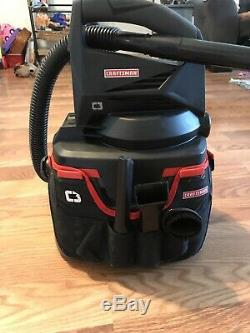 Craftsman C3 19.2 Volt Cordless Wet Dry Vac / Blower with Accessories Works Great