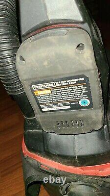 Craftsman C3 19.2v Cordless WET DRY VACUUM / BLOWER w Li-Ion BATTERY & CHARGER