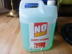 Home Carpet Upholstery Washer Cleaner Vacuum Valeting Machine & 4L Detergent