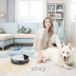 ILIFE V8s Robotic Vacuum Cleaner Wet and Dry mode, Moon Grey