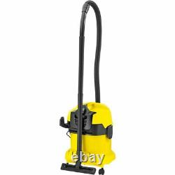 Karcher WD 4 Wet & Dry Cleaner Yellow New from AO