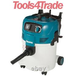 Makita VC3012M Wet and Dry M Class 30L Dust Extractor Vacuum Cleaner 240V