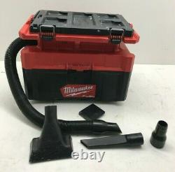 Milwaukee 0970-20 M18 FUEL PACKOUT 2.5 Gallon Wet/Dry Vacuum V. G