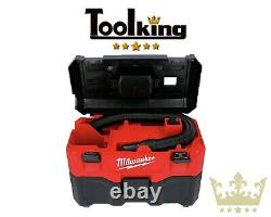 Milwaukee M18VC2-0 18v 7.5L Cordless Wet & Dry Vacuum Cleaner Body Only