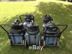 NUMATIC WET & DRY VACUUMS 9 IN TOTAL 240v / 110v MACHINES
