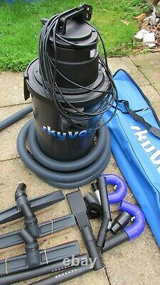 New Boxed SkyVac Atom Wet & Dry Gutter Cleaning Vacuum 10.5M / 34Ft With Camera