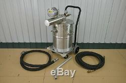 Nilfisk EXP1-75A Explosion Proof Stainless Steel Industrial Vacuum (21579)