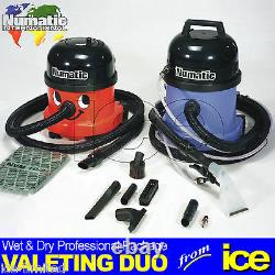Numatic Car Valeting Duo Equipment Wet & Dry Machines Starter Package Kit A42