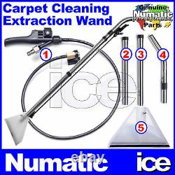 Numatic Cleantec Carpet Spray Extraction Hose Floor Tool Wand Fishtail Trigger
