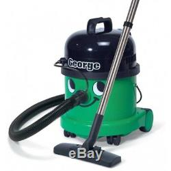 Numatic GVE370-2 George Wet & Dry Bagged 1200W Vacuum Cleaner in Green