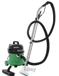 Numatic George GVE370-2 Vacuum Carpet Cleaner Hoover Wet & Dry Green A26A Kit UK