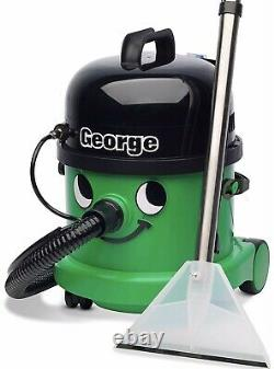 Numatic George GVE370-2 Wet & Dry Vacuum Cleaner Green Opened Never Used