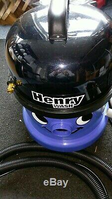 Numatic Henry Wash HVW370 Vacuum Cleaner Carpet Cleaner Nearly New