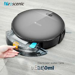 Proscenic 800T Alexa Robotic Vacuum Cleaner Carpet PetHair Dry Wet Mopping Sweep