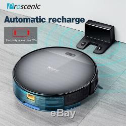 Proscenic 800T Alexa vacuum cleaner Robot floor Dry Wet Mopping With Virtual Tape