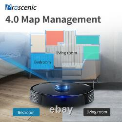 Proscenic M7 Pro Laser Robotic Vacuum Cleaner Floor Dry Wet Mopping Up to 270Min