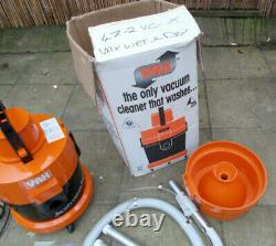 Retro Vintage Vax Model 111 Wet & Dry Cylinder Vacuum Cleaner With Tools