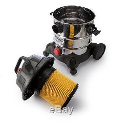 Sealey 20ltr 110v Wet+Dry Industrial Vacuum/Vac Cleaner+Accessories PC200SD110V