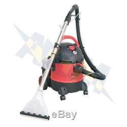 Sealey PC310 Wet & Dry Valeting Carpet Vacuum Cleaning Machine 20Ltr Accessories