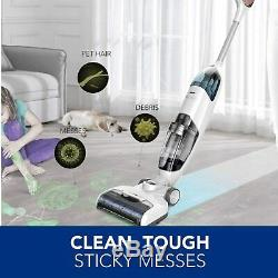 Tineco iFLOOR Upright Cordless Wet Dry Vacuum Cleaner and Mop for Hard Floors