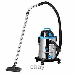 Vacmaster Wet and Dry Vacuum Cleaner 30L Powerful 1500W. BAG OR BAGLESS