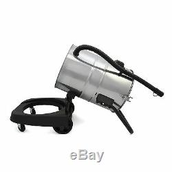 Vacuum Cleaner Wet & Dry Industrial Commercial Stainless Steel 50L Hoover