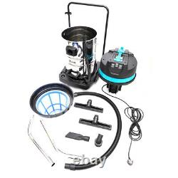 Wet And Dry Vacuum Cleaner Industrial 80 Litre 3000W Carwash Black