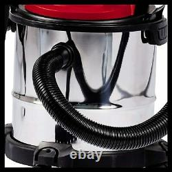 Wet & Dry Vacuum Cleaner Industrial Water and Dirt All-in-1 Blower Vac 12L 1200W
