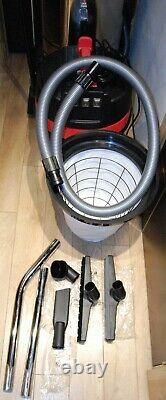 Wet Dry Vacuum Industrial Hoover 80 Litre 3000w Stainless Bagless Water Cleaner