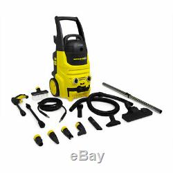 Wolf Pressure Washer 2000W 150 BAR / 2176 PSI and 700W Wet & Dry Vacuum Cleaner